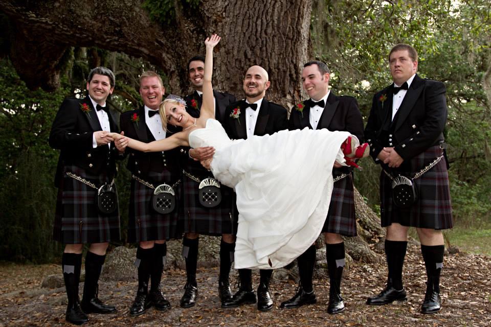 Lothian-Kilt-Rentals-Lionheart-Rice-Wedding-1