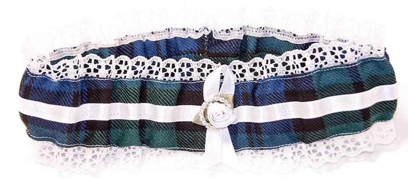 Lothian Kilt Rentals Tartan Garter Belt