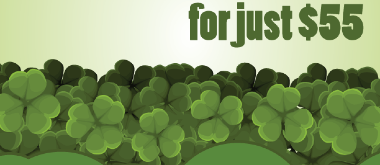 2014 St. Patrick's Day Kilt Rental Special!